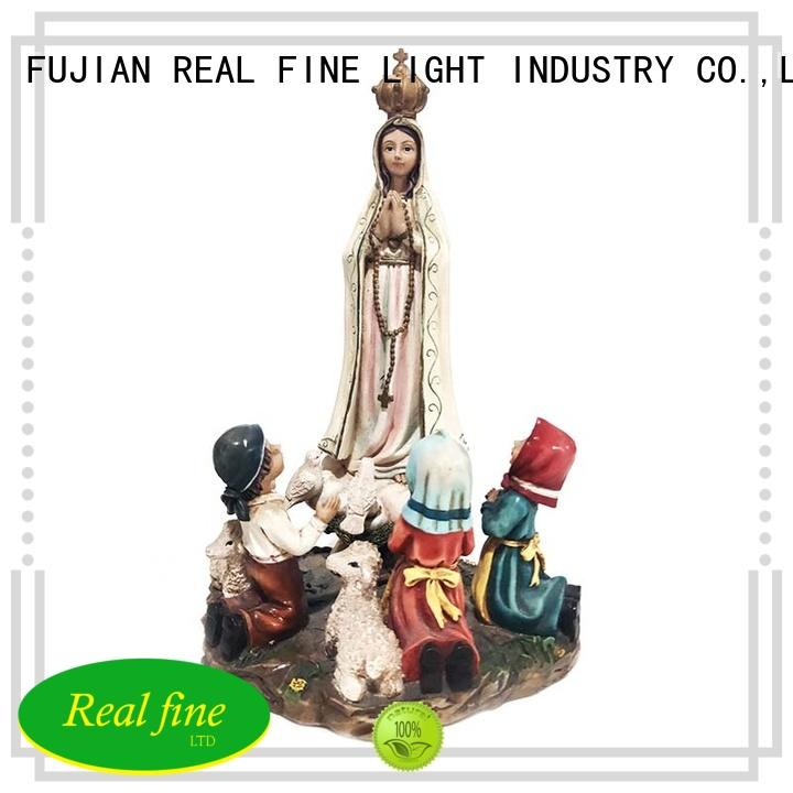 popular resin outdoor decor for sale for gifts Real Fine