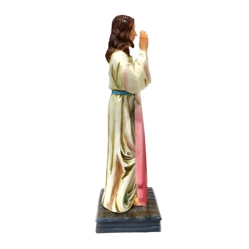 wholesale religious items ployresin crafts Christmas decoration J.Misericordioso Jesus figurine