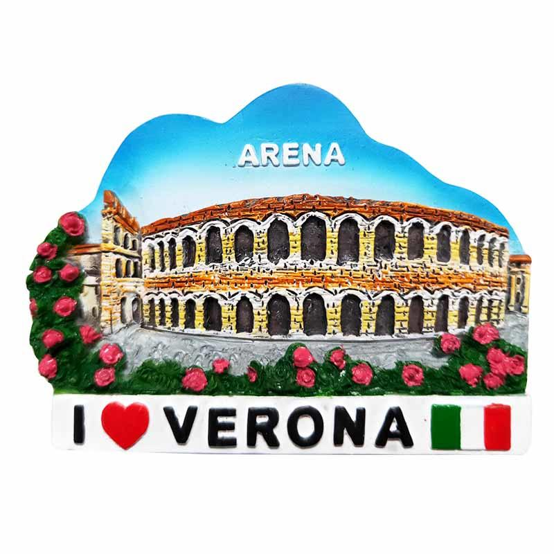Italy Roma Souvenirs 3d Design promotional gifts Resin Fridge Magnet