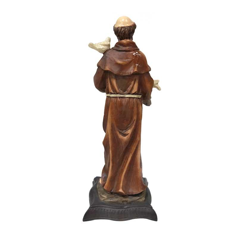 Custom Catholic Figurine Resin Arts and Craft San Francis Statues