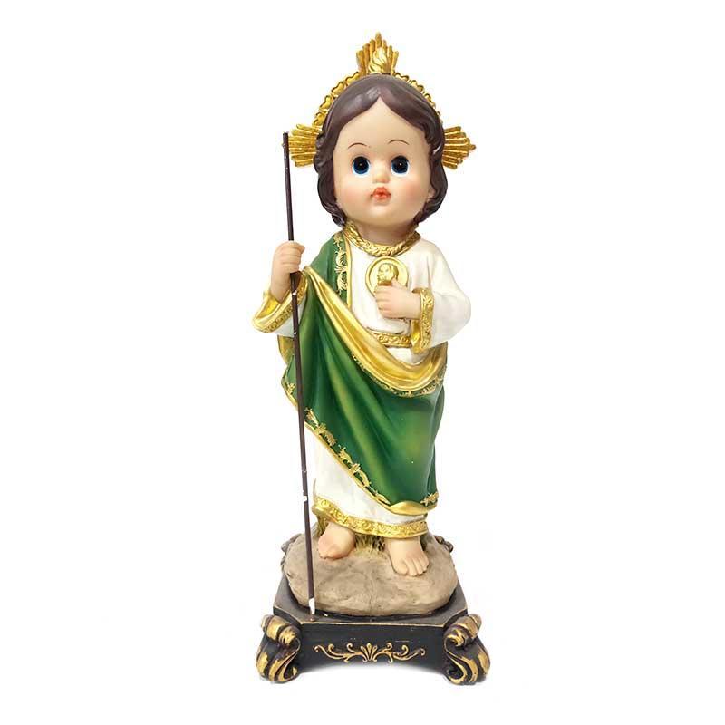 Custom Religious Crafts Resin Saint Cartoon Style San Judas Tadeo Statue