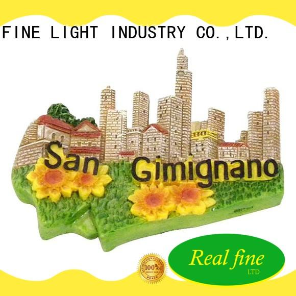 Real Fine holiday city souvenirs for gifts for home