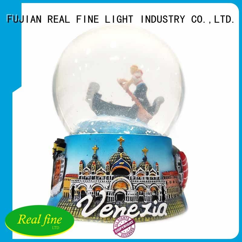 Wholesale Venice Souvenirs Holiday Decoration Resin Crafts Snow Glass Globe