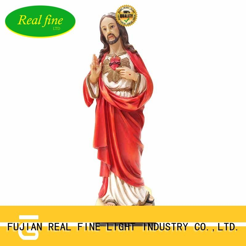 Real Fine exquisite polyresin figurines great design for church