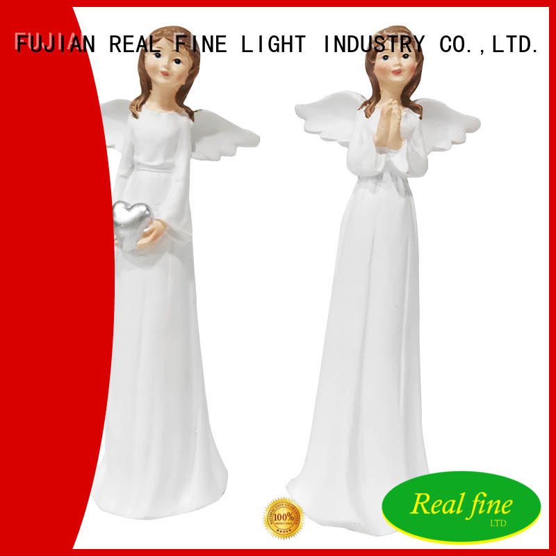 Real Fine customized popular angel figurines creative for home