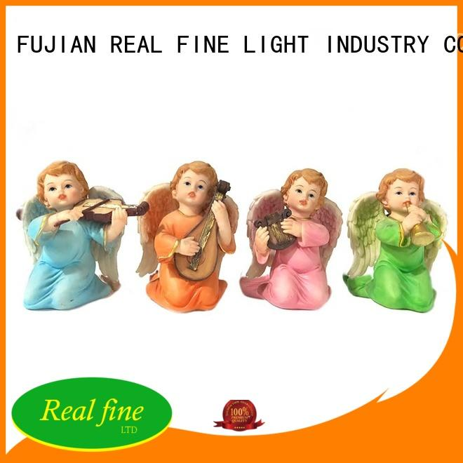 Real Fine environmental angel figurines supply for home