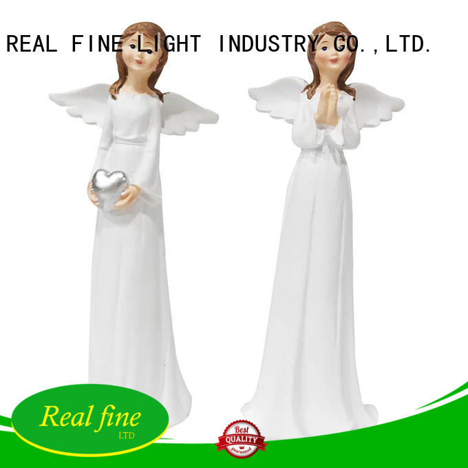slim guardian angel figurines high quality for office Real Fine