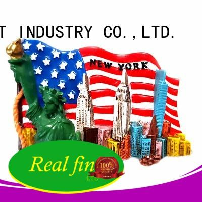 Real Fine high quality resin crafts supply for office
