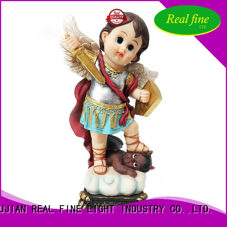 Real Fine resin craft wholesale for garden