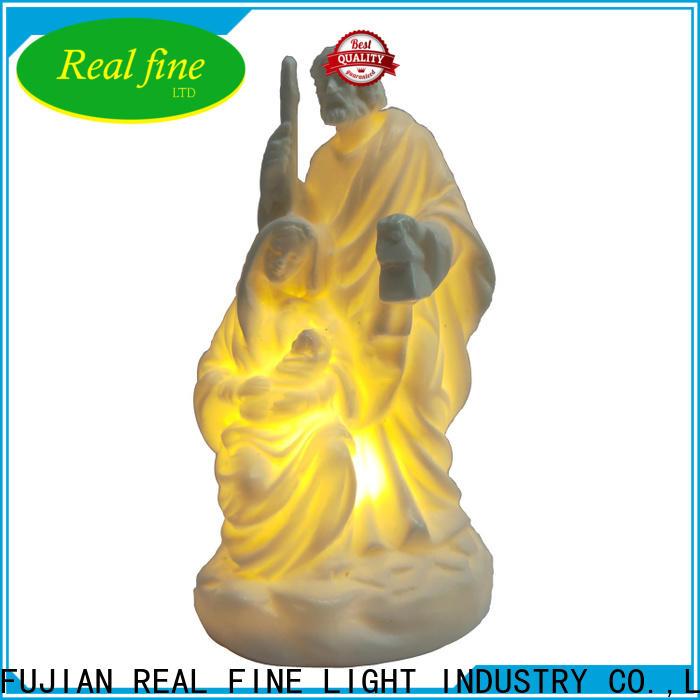 Real Fine exquisite religious statues menufacturer for garden
