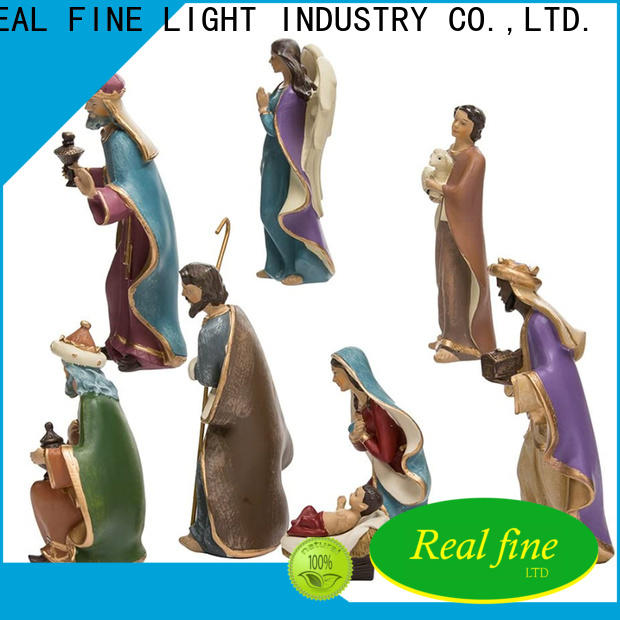 Real Fine Nativity Figurine wholesale for gifts