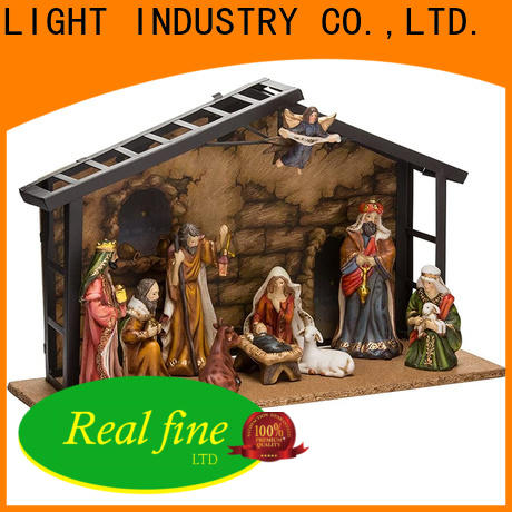 Real Fine standard Nativity Figurine wholesale for home