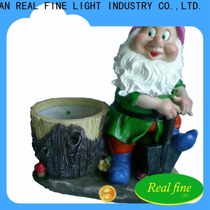 Real Fine exquisite lawn figurines supply for park