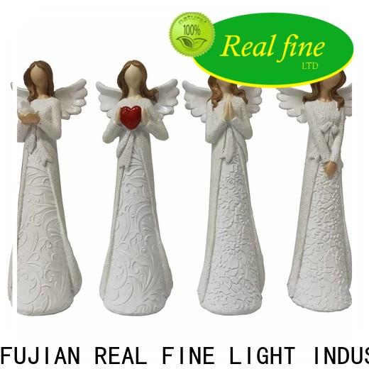 Real Fine brown polyresin figurines for gifts for church