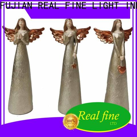 Real Fine resin angel figurines collectible for gifts for office