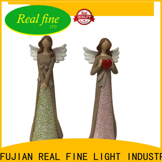 Real Fine resin angel figurines for decoration for church