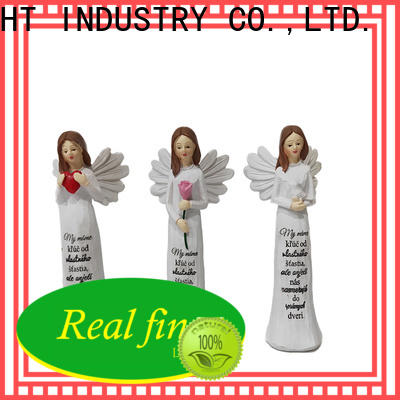 Real Fine standard angel figurines for gifts for office