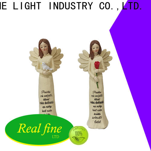 Real Fine guardian angel figurines for decoration for home