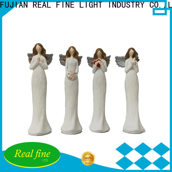 Real Fine beautiful guardian angel figurines high quality for home