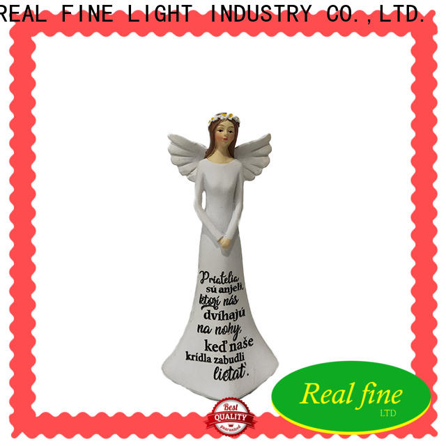 Real Fine resin angel figurines for decoration for office