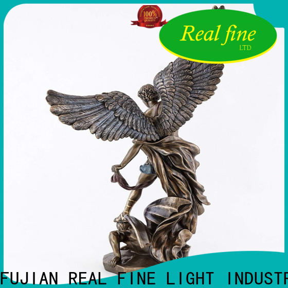 Real Fine environmental resin angel figurines supply for church