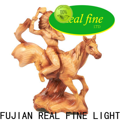 Real Fine Home decor figurine wholesale for library