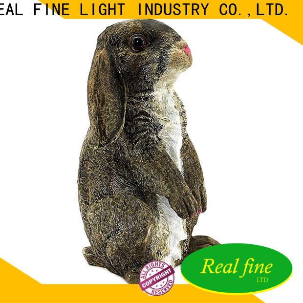 Real Fine customized outdoor figurines factory for home