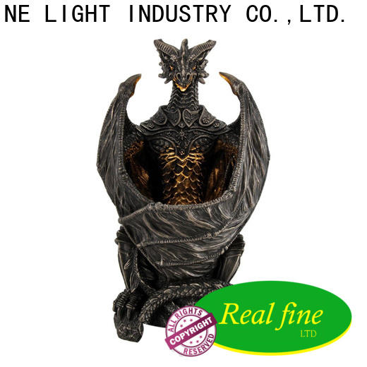 Real Fine custom figurine online for library