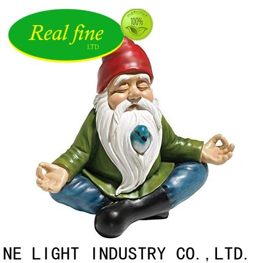 Real Fine polyresin figurines supply for garden