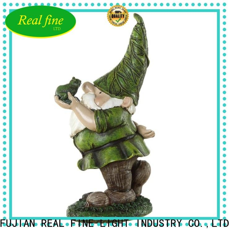 Real Fine resin crafts factory for garden