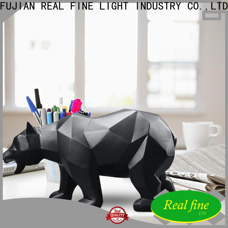 Real Fine Home decor figurine promotion for library