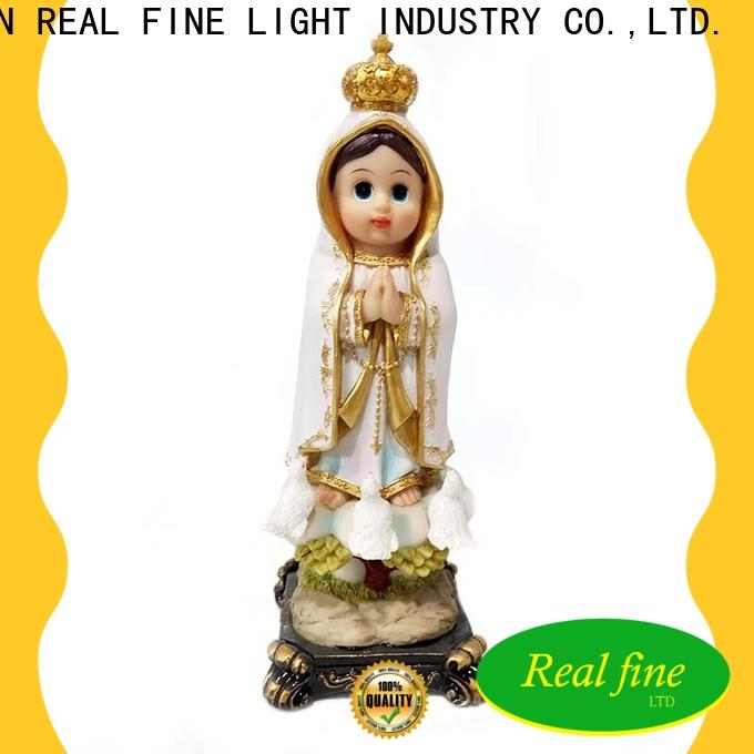 Real Fine customized figurine deco for sale for church