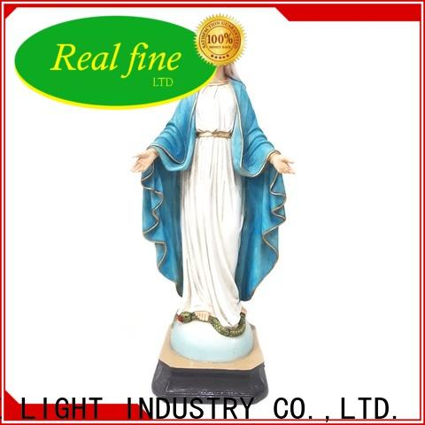 Real Fine religious items for decoration for garden