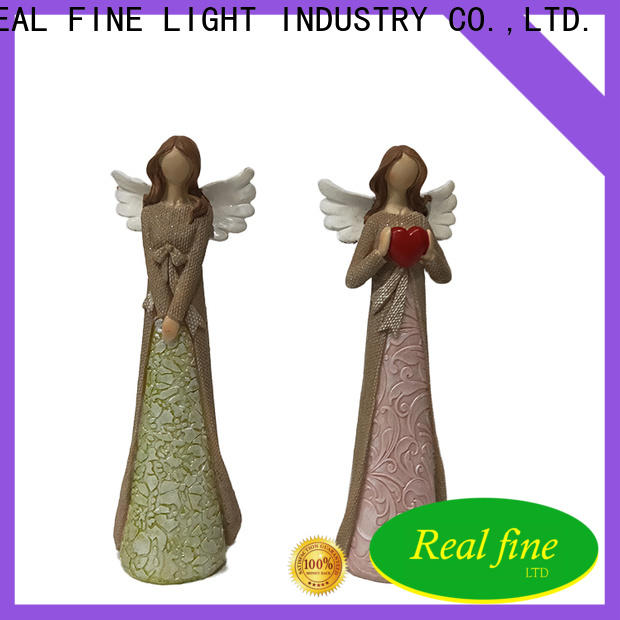 Real Fine small angel figurines for decoration for office
