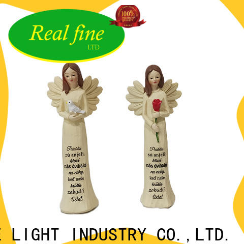 Real Fine environmental angel figurines for sale supply for home