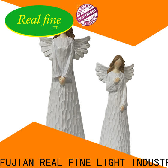 Real Fine christmas angel figurines high quality for home