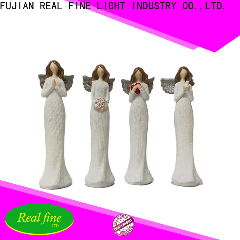 environmental small angel figurines for decoration for home
