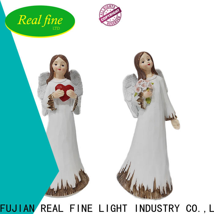 customized small angel figurines for gifts for church