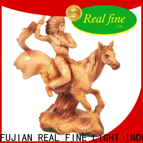 Real Fine simple figurine promotion for home