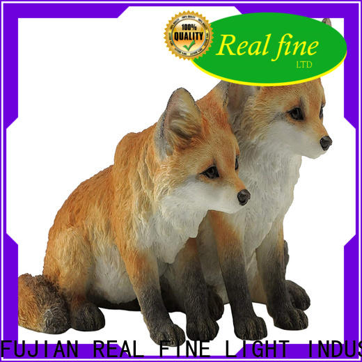 Real Fine resin figures factory for park