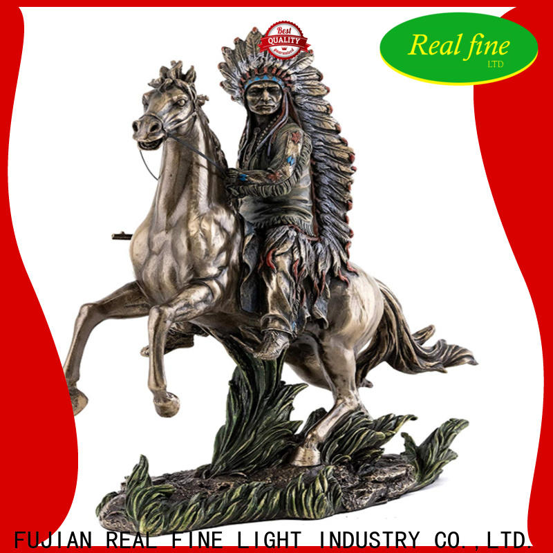 Real Fine simple Home decor figurine wholesale for library