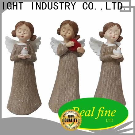 Real Fine beautiful angel figurines collectible for decoration for garden