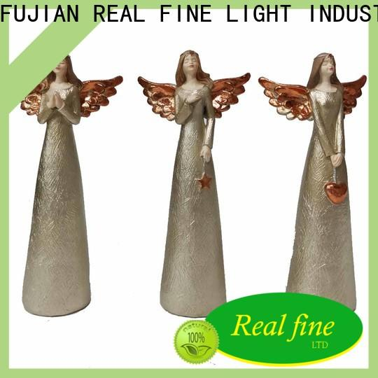 Real Fine customized guardian angel figurines supply for office