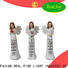 Real Fine customized christmas angel figurines high quality for church