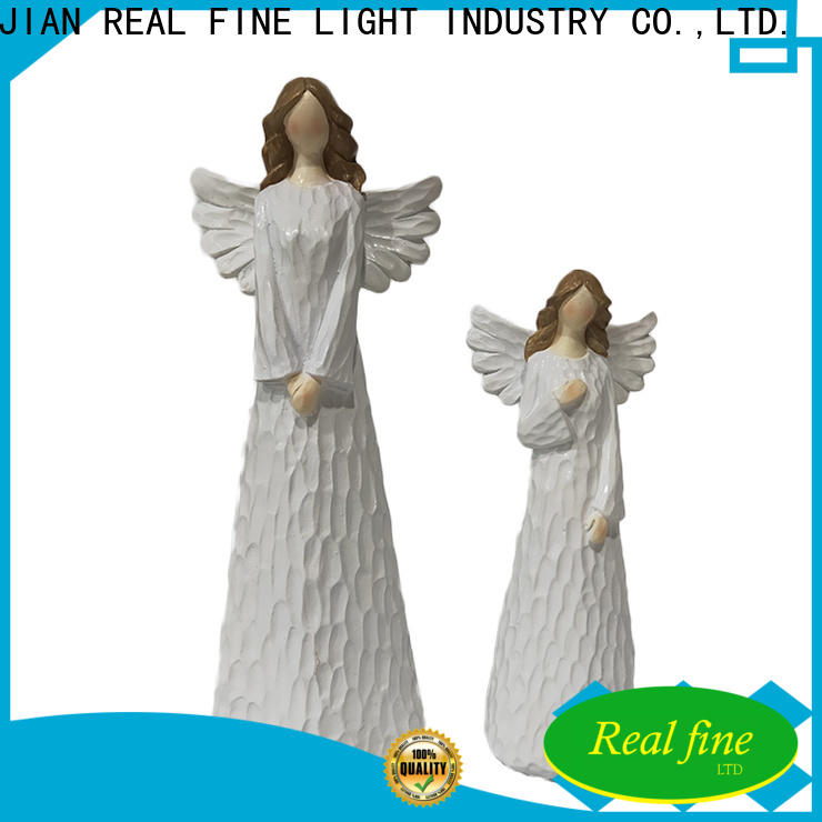standard resin angel figurines for gifts for garden