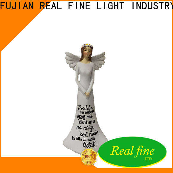 Real Fine customized guardian angel figurines for gifts for garden