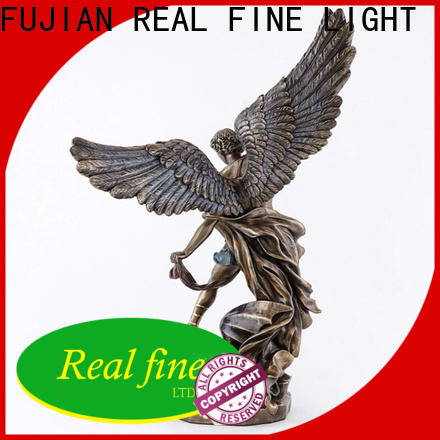customized small angel figurines supply for garden