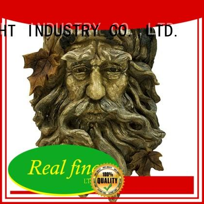 Real Fine colorful lawn figurines factory for garden