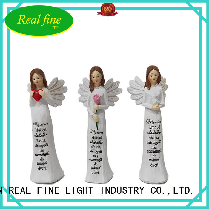 Real Fine environmental decorative angel figurines for decoration for office
