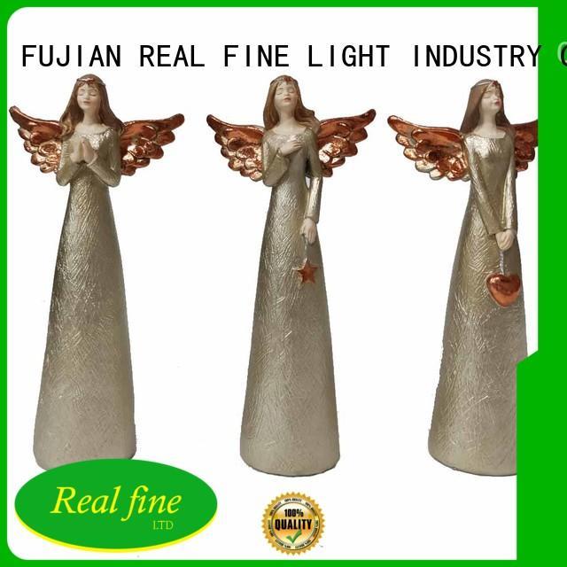 popular angel figurines praying for garden Real Fine